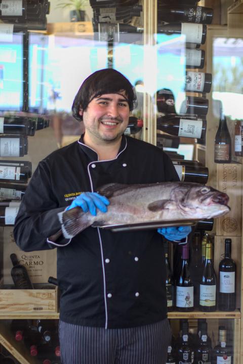Diogo Guarda - Ajudante de Cozinha