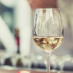 white, wine, glass
